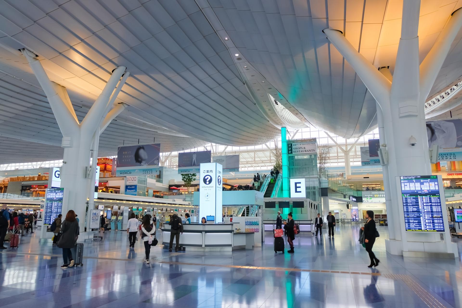 羽田空港や周辺で仮眠できる場所11選!おすすめの過ごし方もご紹介!