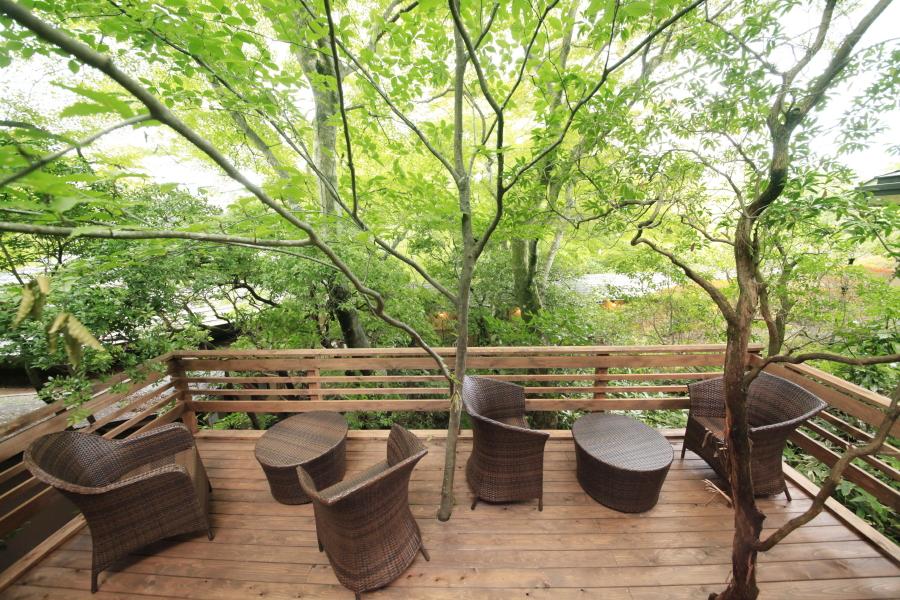 ゆとりろ庵の貸切温泉で四季を愉しむ!こだわりの客室も一挙公開!