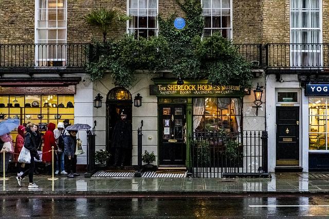 【ロンドン】ベイカー街(ベイカーストリート)のおすすめ観光スポットをご紹介!