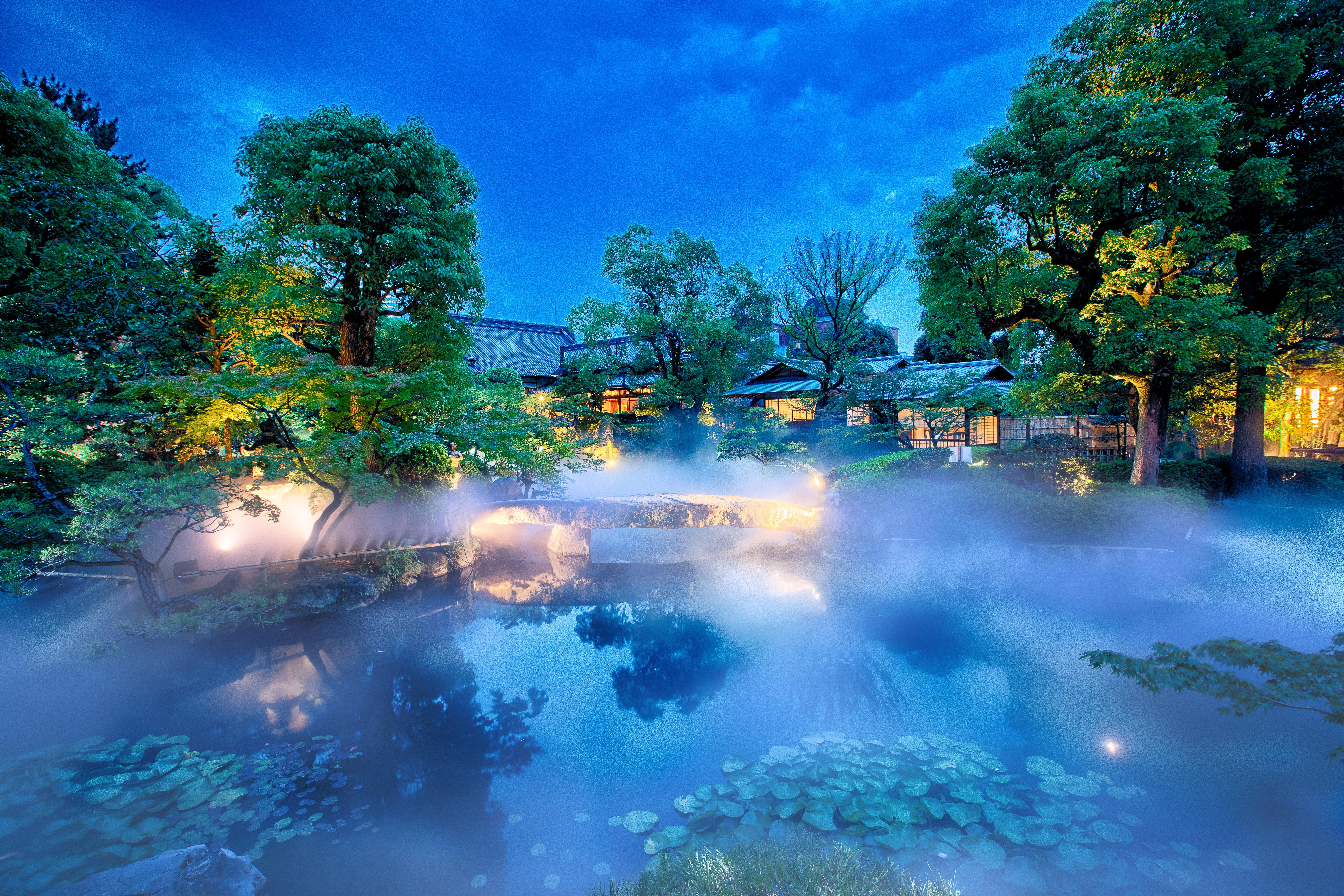 太閤園は歴史のある豪華な庭園!景色を見ながら食事や結婚式場におすすめ!