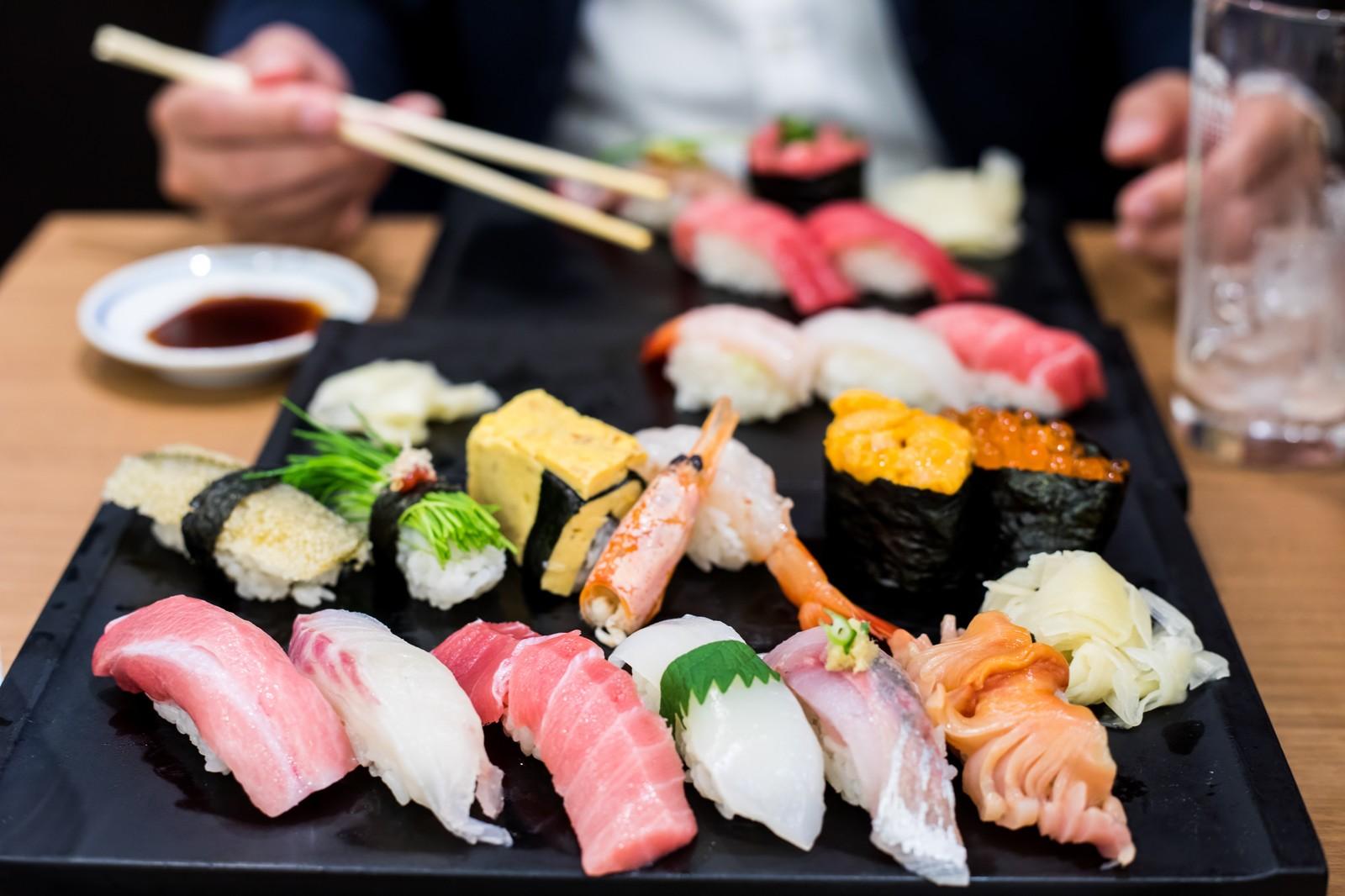 都立大「すし処新田中」はリーズナブルな人気店!美味しい寿司を食べ放題!