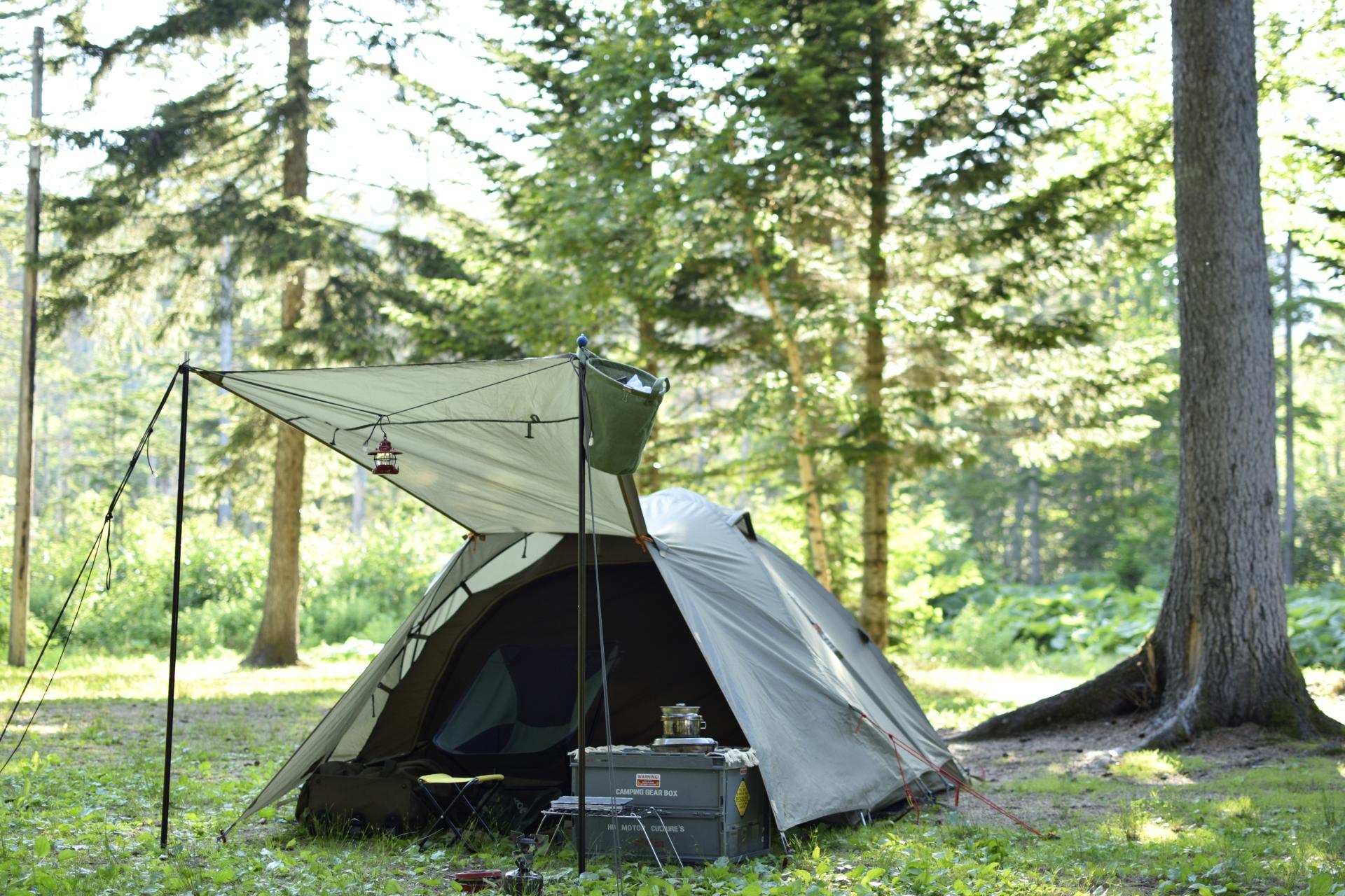 【大阪】渓流園地は自然豊かな穴場キャンプ場!ソロにもファミリーにもおすすめ!